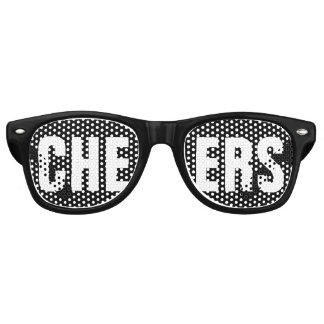 """Gafas De Fiesta Retro """"ANIMA"""" al fiesta blanco y negro"""