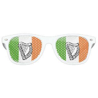 Gafas De Fiesta Retro Bandera brillante irlandesa
