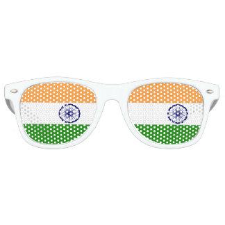 Gafas De Fiesta Retro Bandera de la India