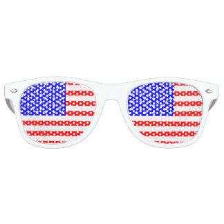 Gafas De Fiesta Retro Bandera de los Estados Unidos