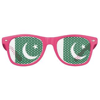 Gafas De Fiesta Retro Bandera de Paquistán