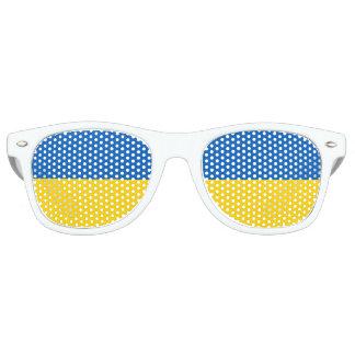 Gafas De Fiesta Retro Bandera de Ucrania