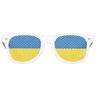 Gafas De Fiesta Retro Bandera de Ucrania - bandera ucraniana -
