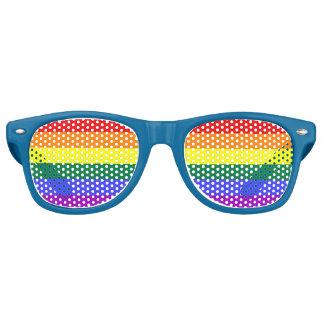 Gafas De Fiesta Retro Bandera del arco iris del orgullo gay de LGBT