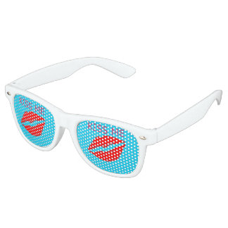 Gafas De Fiesta Retro Béseme