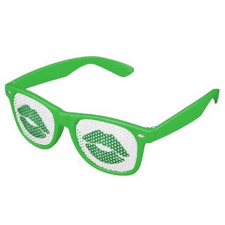 Gafas De Fiesta Retro Béseme que soy el día de la diversión de St