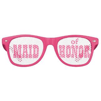 Gafas De Fiesta Retro Criada rosada de los vidrios del fiesta del Swag