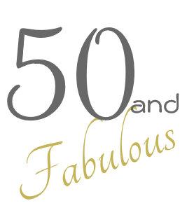 10a704902d Gafas De Fiesta Retro Diversión 50 y 50.o cumpleaños fabuloso