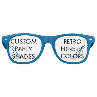 Gafas De Fiesta Retro El fiesta retro personalizado personalizado