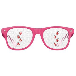 Gafas De Fiesta Retro El hogar de la oficina de la mariquita personaliza