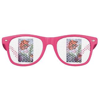 Gafas De Fiesta Retro La oficina de la amapola de las amapolas