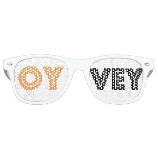 Gafas De Fiesta Retro Los vidrios de la mordaza de Schtick-Kvetcher