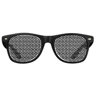 Gafas De Fiesta Retro Modelo geométrico moderno de la casilla negra