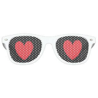 Gafas De Fiesta Retro Ojos del corazón