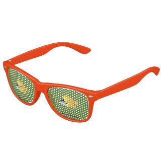 Gafas De Fiesta Retro Pescados amarillos