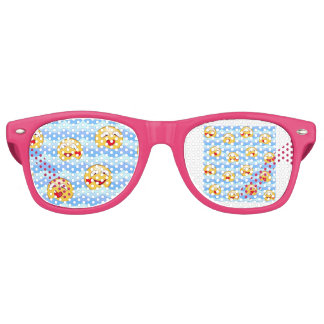 Gafas De Fiesta Retro Smiley de la onda