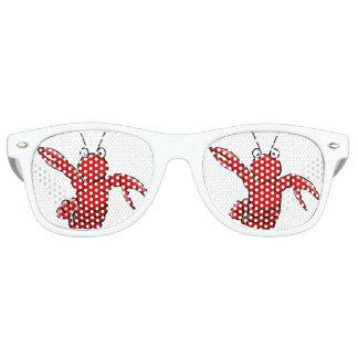 Gafas De Fiesta Retro Sombras adultas del fiesta de la langosta roja