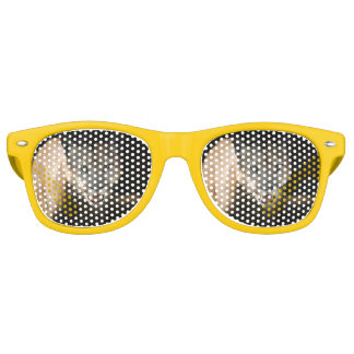 Gafas De Fiesta Retro Sombras del fiesta del puma