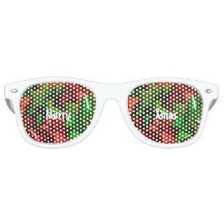 Gafas De Fiesta Retro Sombras del navidad