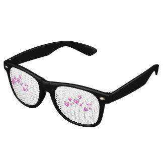 Gafas De Fiesta Retro Sombras del ojo del corazón