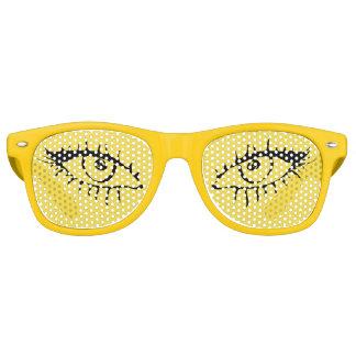 Gafas De Fiesta Retro Sombras retras adultas del fiesta de los ojos