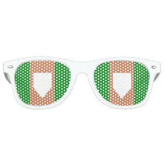 Gafas De Fiesta Retro sombras retras adultas del fiesta del homeplate,