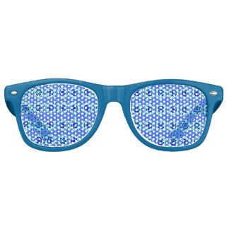 Gafas De Fiesta Retro vidrios azules