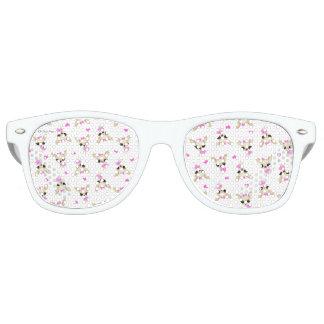 Gafas De Fiesta Retro Vidrios de sol retros de la ji Yum Yum