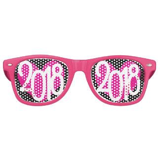 Gafas De Fiesta Retro Vidrios del fiesta del amor 2018 del Año Nuevo