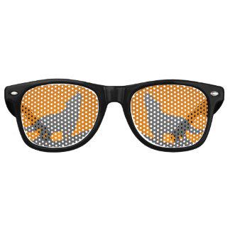 Gafas De Fiesta Retro Vidrios del lobo del grito