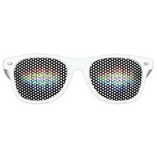 Gafas De Fiesta Retro Vidrios estáticos del logotipo