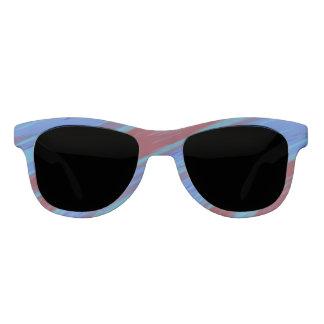 Gafas De Sol Chasquido del color de azul rojo