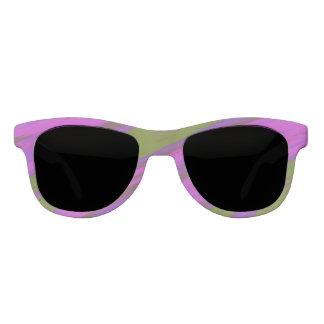 Gafas De Sol Chasquido púrpura del color verde
