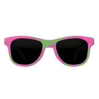 Gafas De Sol Chasquido rosado brillante del color verde