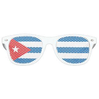 Gafas de sol cubanas de la bandera