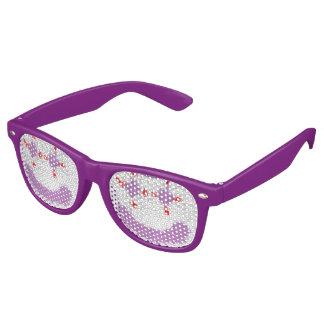gafas de sol de la cara del payaso