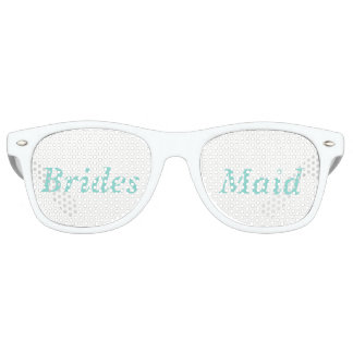 Gafas de sol de la dama de honor del banquete de