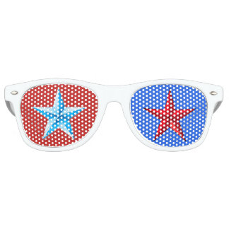 Gafas de sol de la diversión de los E.E.U.U.