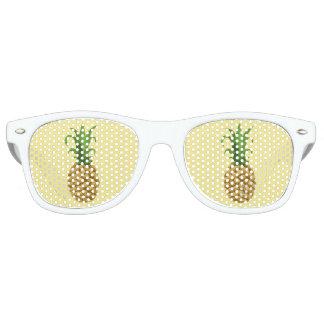 Gafas de sol de la impresión de la piña