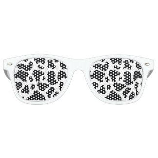 Gafas de sol de la impresión de la vaca