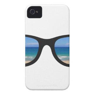 Gafas de sol de la playa funda para iPhone 4 de Case-Mate