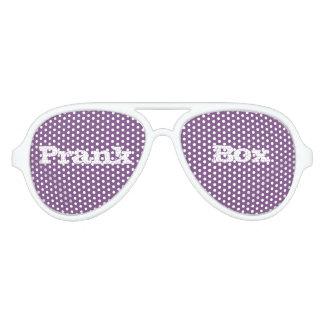 gafas de sol de la púrpura del prankbox