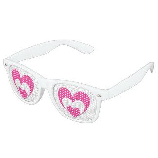 Gafas de sol del amor