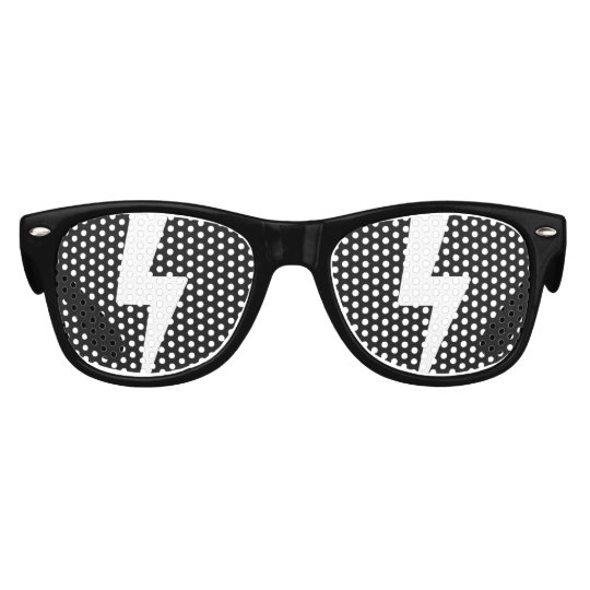 f3f5d84d4e Gafas de sol del dibujo animado: Relámpago | Zazzle.es