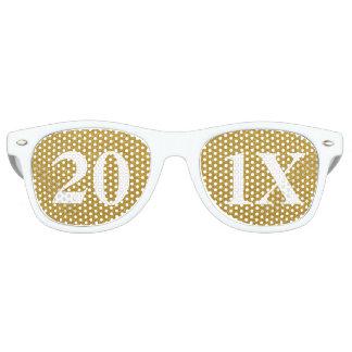 Gafas de sol del fiesta de Noche Vieja