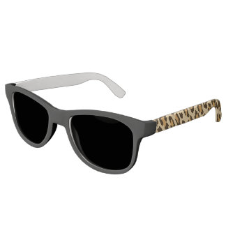 Gafas de sol del marco del estampado leopardo