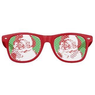 Gafas de sol del navidad de Papá Noel
