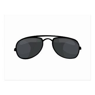 Gafas de sol del poli postal