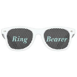 Gafas de sol del portador de anillo del banquete