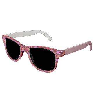 Gafas de sol delanteras y rosadas del modelo del